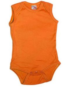 Logostar sleeveless body orange