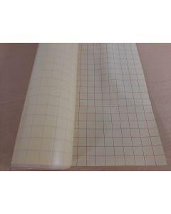 Applicatiefolie met drager 65 cm breed.