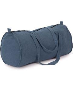 Met de hand geweven duffeltas