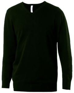 Heren pullover met v-hals