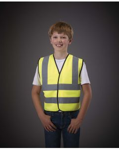 Signalisatievest voor kinderen met 2 Banden & Bretels